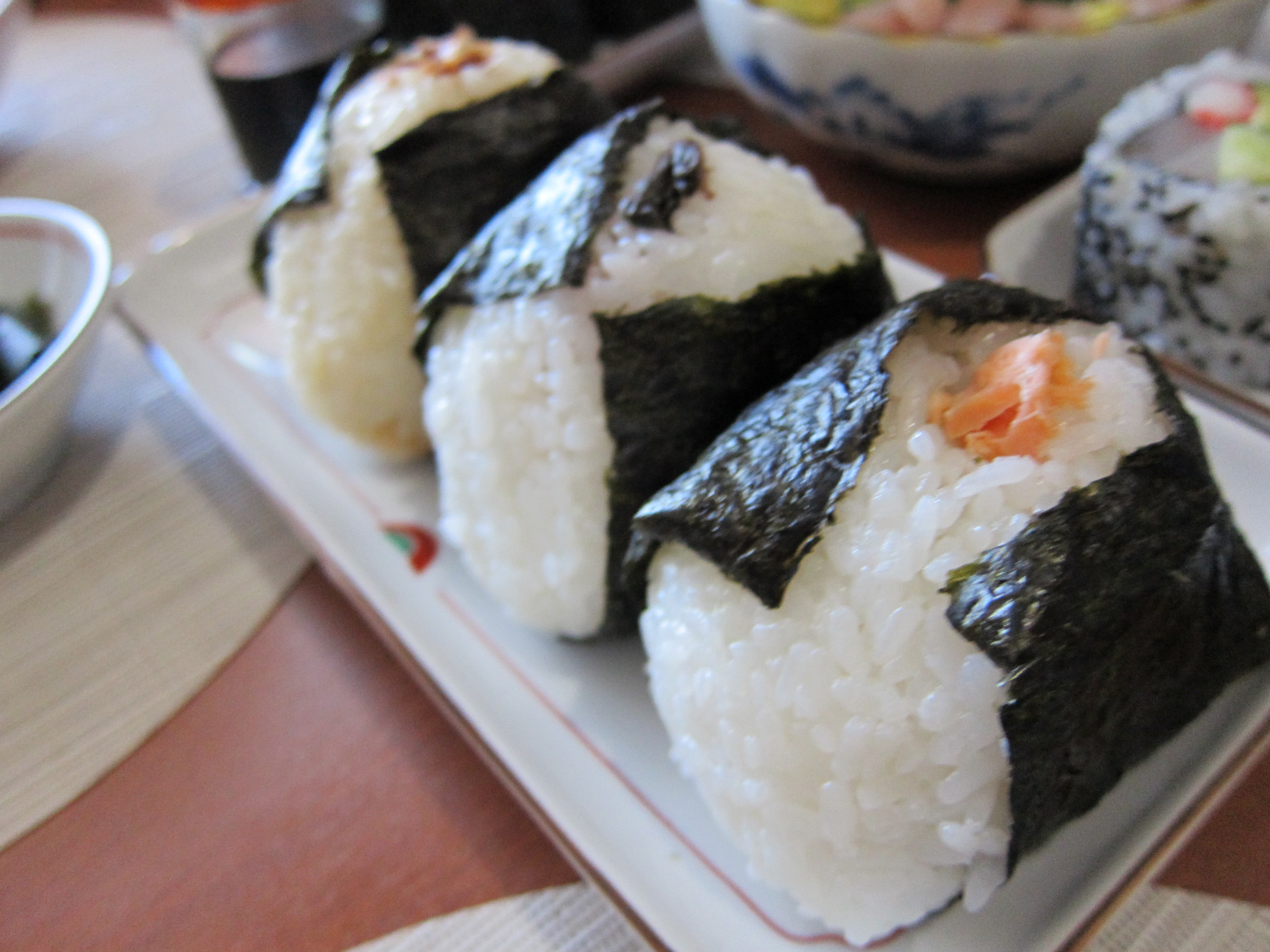 to japan you may have many chances to see onigiri japanese rice ball ...